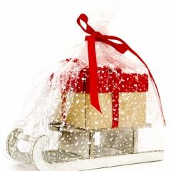 Санки с подарком (арт. 3.24)