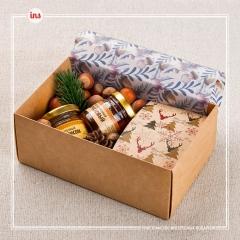 Подарок орехово-медовый