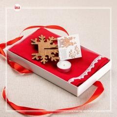 Салфетка рождественская