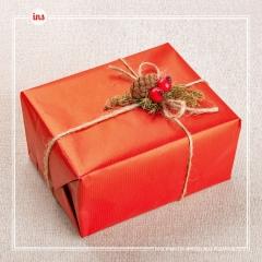 Новогодний декор коробок