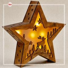 Лампа-ночник Звезда