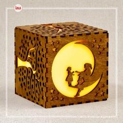 Лампа-ночник Куб