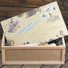 Ящик-посылка с крышкой (арт. 7.4)